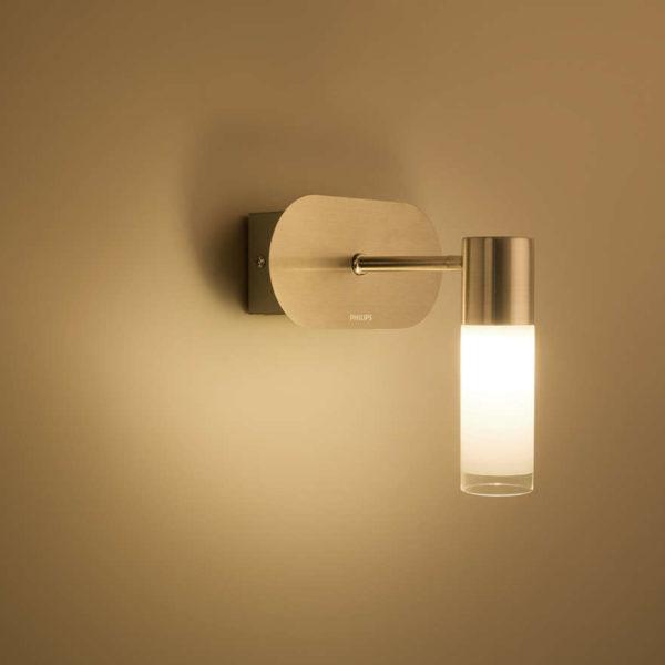 Philips Wall light 30921/17/86 matt chrome LED - Soufan Bros. Co